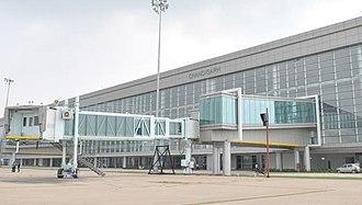 Dera Bassi - View of Chandigarh Airport new terminal
