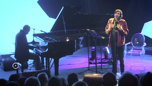 Salvador Sobral - Salvador Sobral, accompanied by pianist Júlio Resende, in the FOLIO festival in Óbidos, singing poems by Alexander Search (one of Fernando Pessoa's heteronyms).