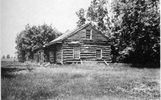 Eden Prairie, Minnesota - Cummins' Cabin, pre-1860
