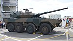 JGSDF Type 16 Maneuver Combat Vehicle(26-7907) right front view at Camp Itami October 8, 2017 01.jpg