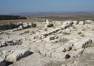 Armageddon - Ruins atop Tel Megiddo.