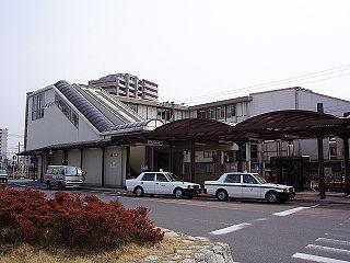 Yasu Station (Shiga) Railway station in Yasu, Shiga Prefecture, Japan