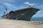 JS Izumo at Changi Naval Base.jpg