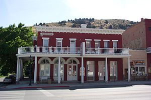 Eureka, Nevada - The historic Jackson House Hotel, built 1877