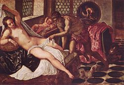 Tintoretto: Venus and Mars Surprised by Vulcan