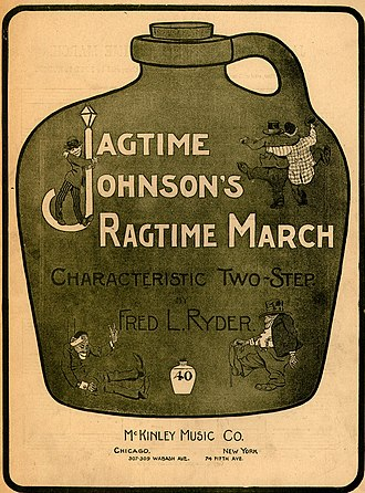 1901 in music - Image: Jagtime Johnsons Ragtime March