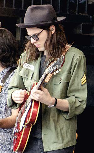 James Bay (singer) - Bay performing at the Glastonbury Festival on 26 June 2015