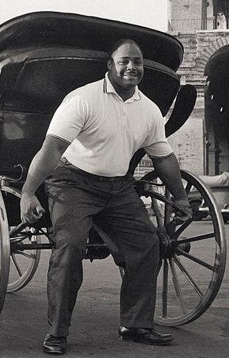 James Bradford (weightlifter) - James Bradford at the 1960 Olympics