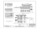 James Mareau Brown House, 2328 Broadway, Galveston, Galveston County, TX HABS TEX,84-GALV,1- (sheet 5 of 8).png