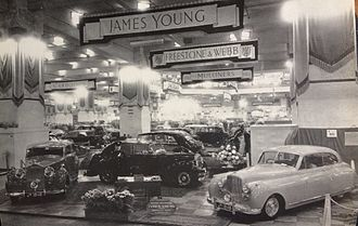 James Young (coachbuilder) - Earls Court motor show 1948