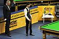 Jan Verhaas and Thepchaiya Un-Nooh at Snooker German Masters (DerHexer) 2013-01-30 02.jpg