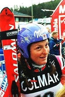 Janica Kostelić Croatian alpine skier