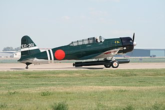 Tora! Tora! Tora! - Nakajima B5N replica modified from a T-6 for the movie Tora! Tora! Tora!
