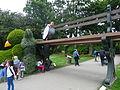Jardin des Plantes (Nantes) 2014 - 08 Le massif du Poussin Endormi.JPG