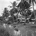 Javaanse kampong in de Van Drimmelenpolder in Nickerie, Bestanddeelnr 252-5527.jpg