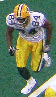 Javon Walker American football player