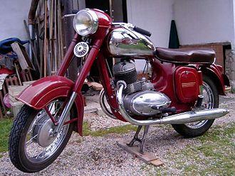Ideal Jawa - Jawa 250 cc 'A' (Type 353 Kyvacka)