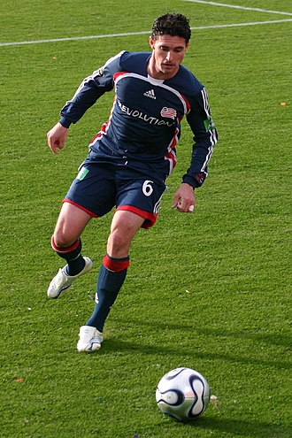 Jay Heaps - Heaps playing in the 2006 MLS Cup.