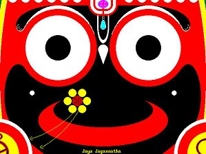 Lord Jagannath who is Krshna Himself in the mo...