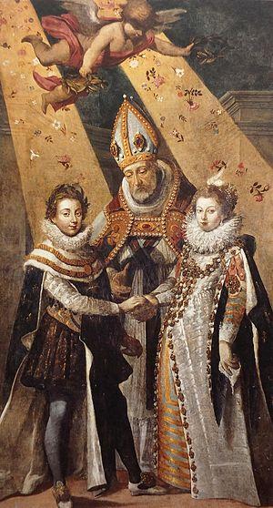Jean Chalette Marriage de Louis XIII Toulouse