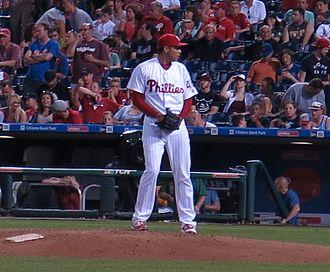 Jeanmar Gómez - Gómez with the Philadelphia Phillies