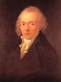 Portrait de Jean Paul réalisé par Heinrich Pfenninger autour de 1797-1798.