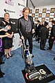 Jeff Bridges with the LG Electronics Kompressor Vacuum on 25th Spirit Awards Blue Carpet held at Nokia Theatre L.A. Live on March 5, 2010 in LA.jpg