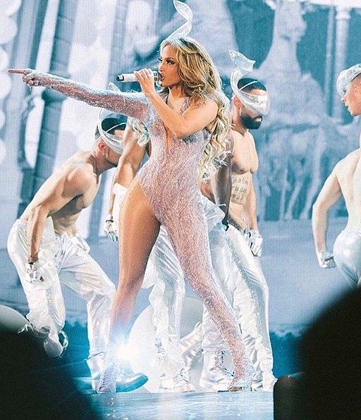 Jennifer Lopez Live during Its my party tour