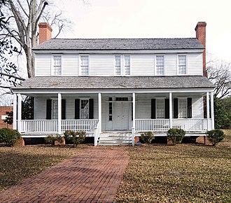 Jennings-Brown House - Jennings-Brown House, December 2012