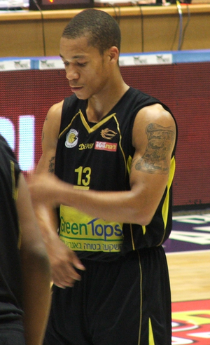 Jerome Randle - Randle with Barak Netanya in October 2011.