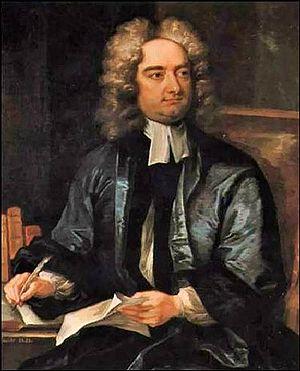 Drapier's Letters - Charles Jervas's portrait of Jonathan Swift (1718)