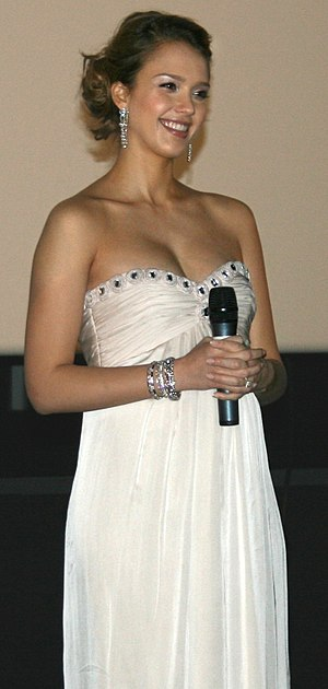 Jessica Alba - A pregnant Alba at the 2008 Paris premiere for The Eye
