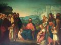 Jesus acolhendo as criancinhas (1846) - Francisco Metrass (Museu de Aveiro, dep.º).png