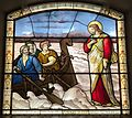 Jesus walks on Water, St Botolph without Aldersgate.jpg