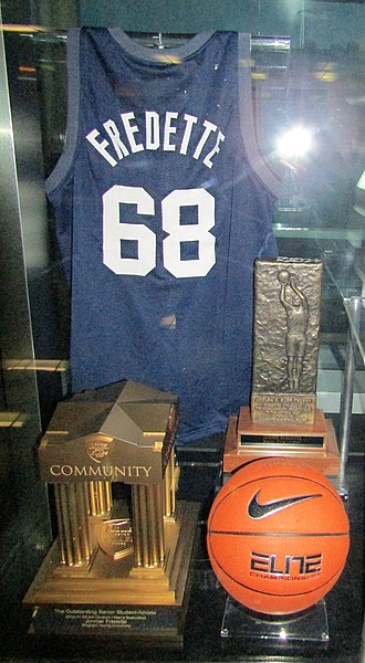 File:Jimmer Fredette jersey and trophies (28001932447).jpg