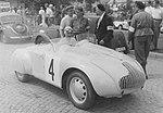Jindřich Knapp (s páskou JEZDEC), Minicar 1947.jpg