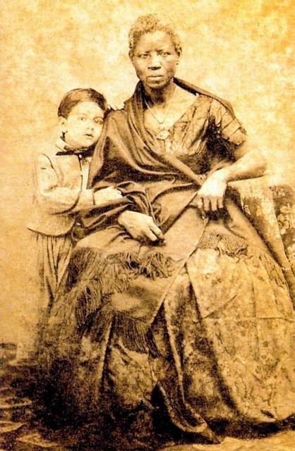 João Ferreira Villela com a Ama-de-Leite Mônica, 1860