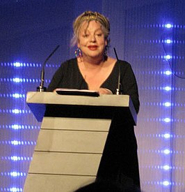 Jo Brand bij de BBC Magazines Awards for Excellence