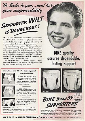 Jockstrap ad, 1941