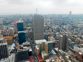 Johannesburg Central Business District Johannesburg view topofCC 03.jpg