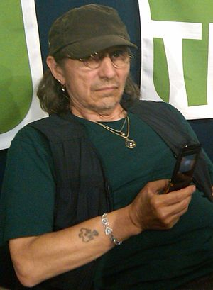 John Trudell - John Trudell at a conference in 2009