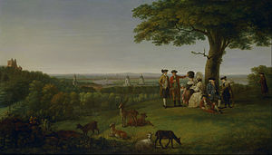 John Feary - John Feary One Tree Hill, Greenwich, with London in the Distance (1779)