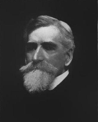 Indiana State Treasurer - John J. Cooper, Treasurer from 1883 to 1887