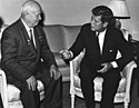 John Kennedy, Nikita Khrushchev 1961.jpg