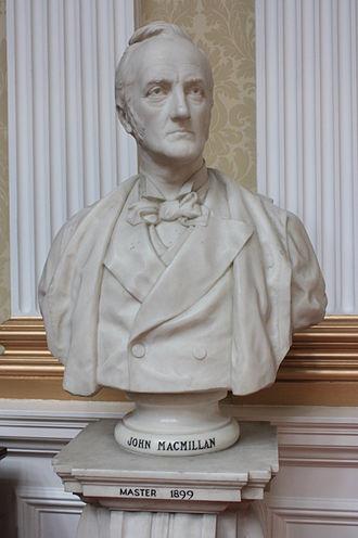 David Watson Stevenson - John MacMillan, Master of the Merchant Company, Edinburgh in 1899, by David Watson Stevenson 1901