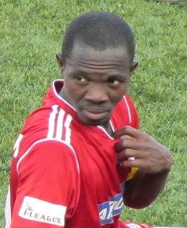 Johnny Menyongar Liberian footballer