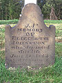 Johnston (Elizebeth), Robinson Run Cemetery, 2015-09-27, 01.jpg
