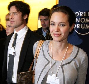 DAVOS/SWITZERLAND, 26JAN06 - FR: Angelina Joli...