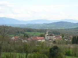 Jonzier-Epagny - vue du chef lieu.JPG