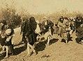 Jordanian Christian women visiting Al-Maghtas, Jordan River, 1913 (cropped) (cropped).jpg